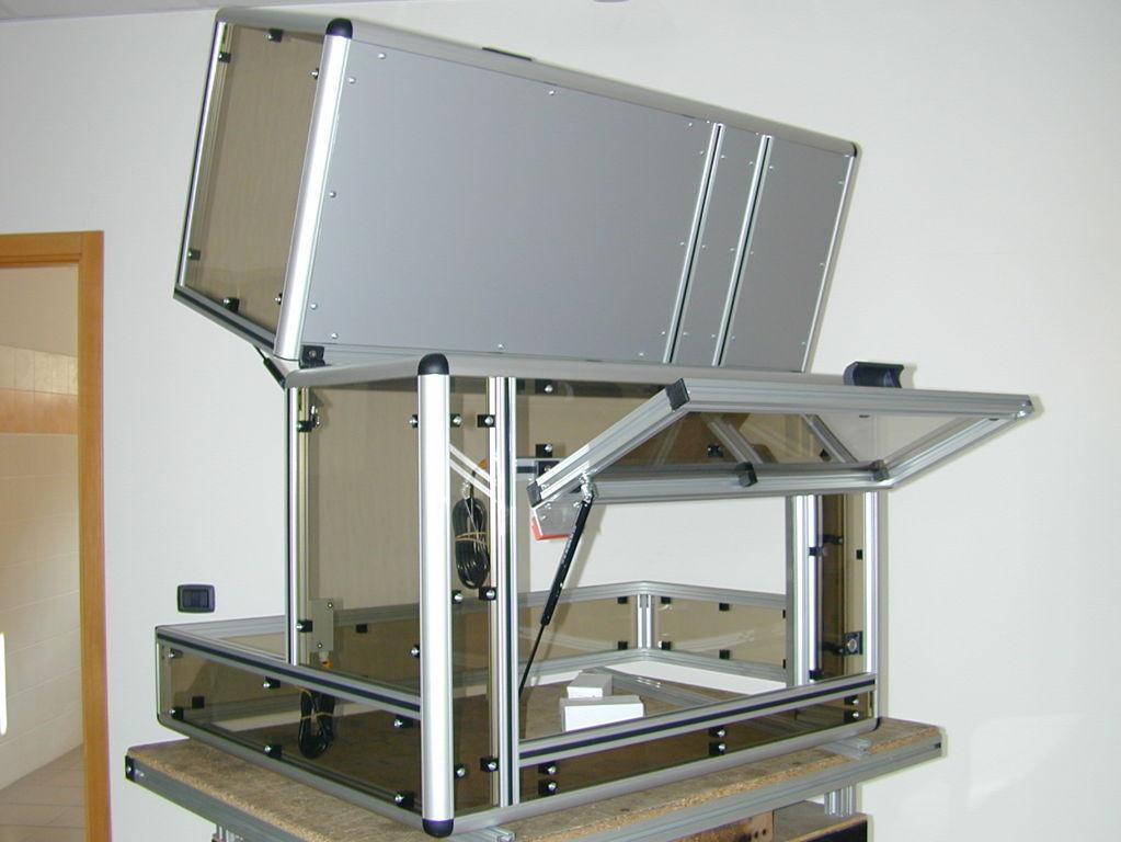 protezioni in alluminio